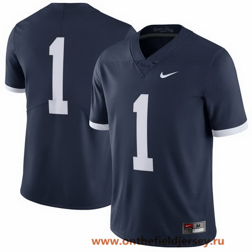 Men's Penn State Nittany Lions Custom Navy Blue Limited 2017 Alternate College Football Stitched Nike NCAA Jersey