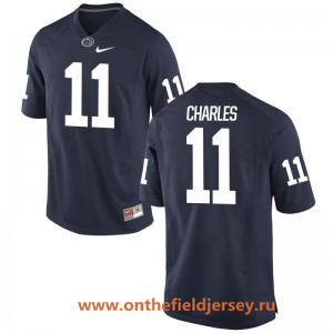 Men's Penn State Nittany Lions #11 Irvin Charles Navy Blue College Football Stitched Nike NCAA Jersey