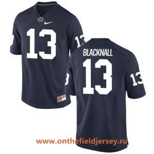 Men's Penn State Nittany Lions #13 Saeed Blacknall Navy Blue College Football Stitched Nike NCAA Jersey