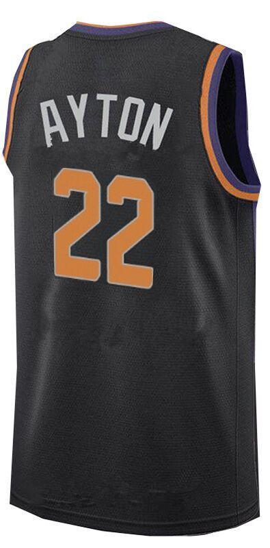 Men's Phoenix Suns #22 Deandre Ayton Black 2018 Draft First Round Pick Nike NBA Jersey