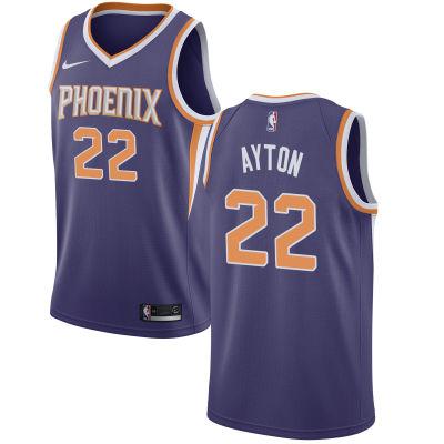 Men's Phoenix Suns #22 Deandre Ayton Purple 2018 Draft First Round Pick Nike NBA Jersey