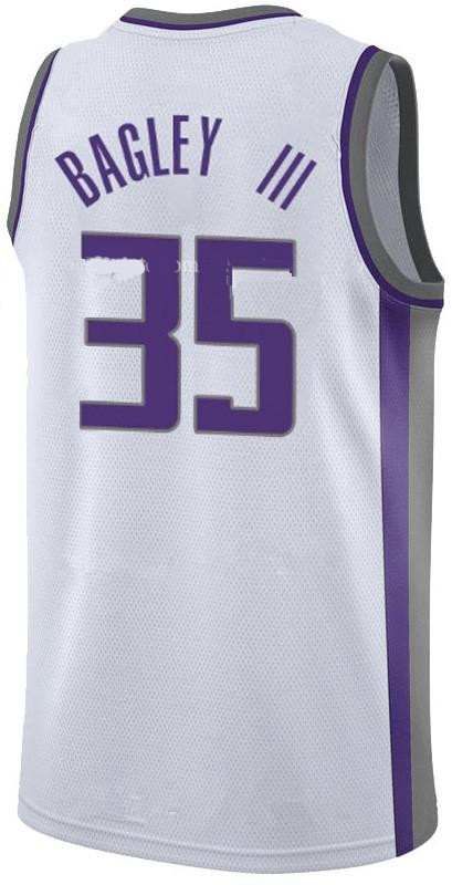Men's Sacramento Kings #35 Marvin Bagley III White 2018 Draft First Round Pick Nike NBA Jersey