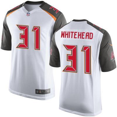 Men's Tampa Bay Buccaneers #31 Jordan Whitehead White Road Stitched NFL Nike Game Jersey