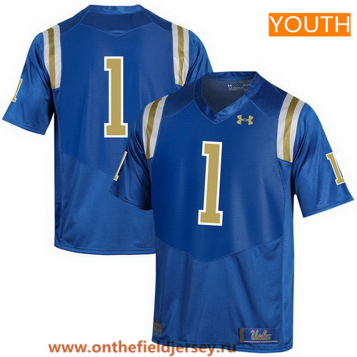 Youth UCLA Bruins Custom 2017 Light Blue Stitched Under Armour NCAA Jersey