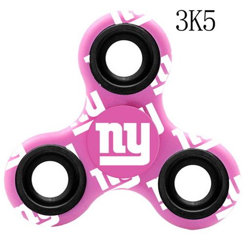 New York Giants Pink Logo Three-Way Fidget Spinner III - 3K5