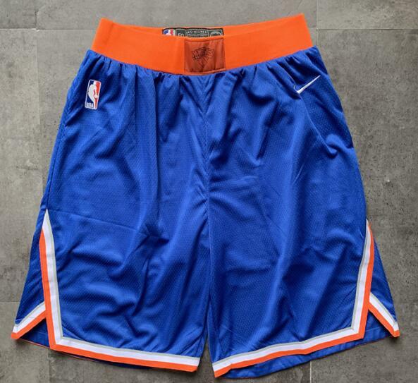 New York Knicks Nike Royal Blue Shorts