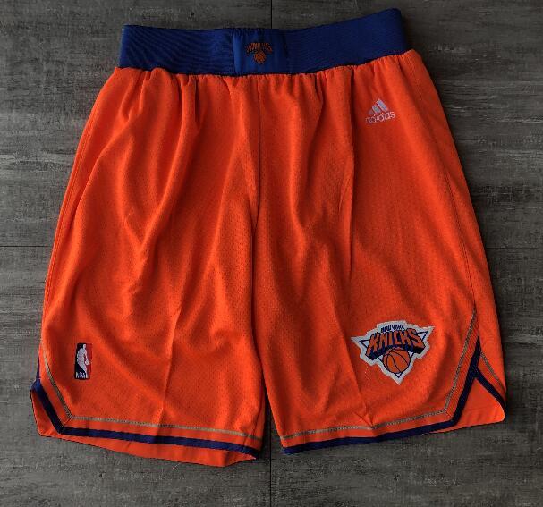 New York Knicks JUST DON Orange Retro Shorts