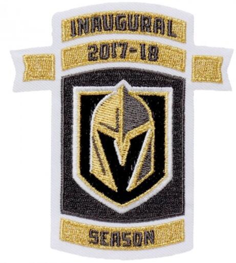 Vegas Golden Knights 2017-2018 Inaugural NHL Season Jersey Patch