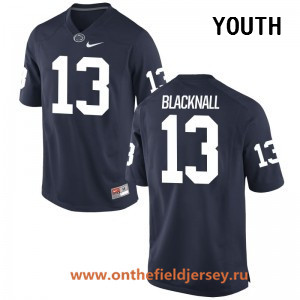 Youth Penn State Nittany Lions #13 Saeed Blacknall Navy Blue College Football Stitched Nike NCAA Jersey