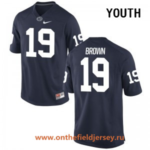Youth Penn State Nittany Lions #19 Torrence Brown Navy Blue College Football Stitched Nike NCAA Jersey