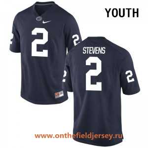 Youth Penn State Nittany Lions #2 Tommy Stevens Navy Blue College Football Stitched Nike NCAA Jersey
