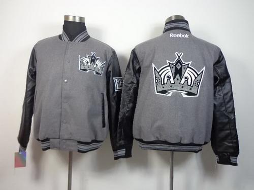 Men's Los Angeles Kings Blank Gray Jacket
