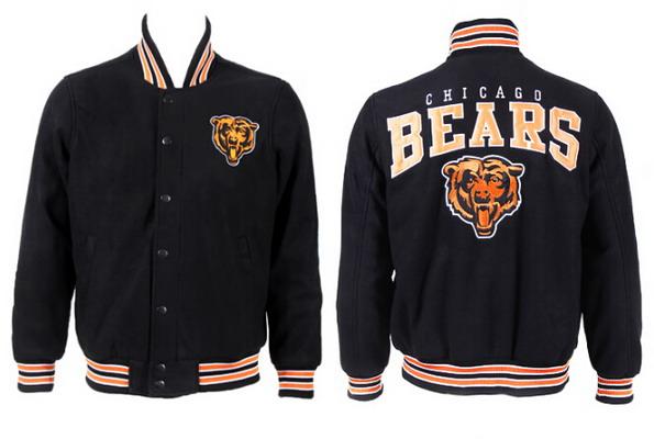Men's Chicago Bears Black Jacket FY