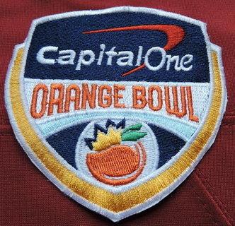 2016 NCAA College Football Orange Bowl Patch