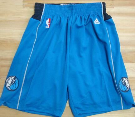 Men's Dallas Mavericks Light Blue Shorts