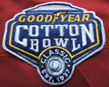 2016 NCAA College Football Cotton Bowl Patch