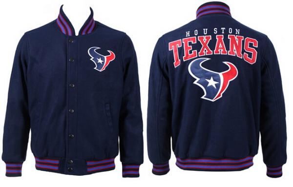 Men's Houston Texans Navy Jacket FY