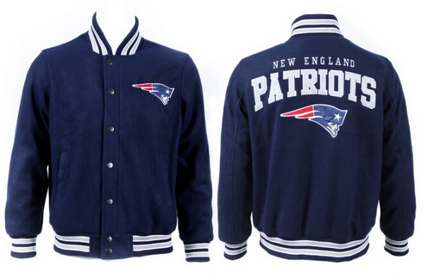 Men's New England Patriots Navy Jacket FY
