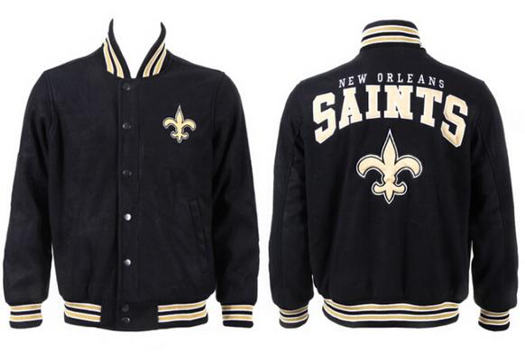 Men's New Orleans Saints Black Jacket FY