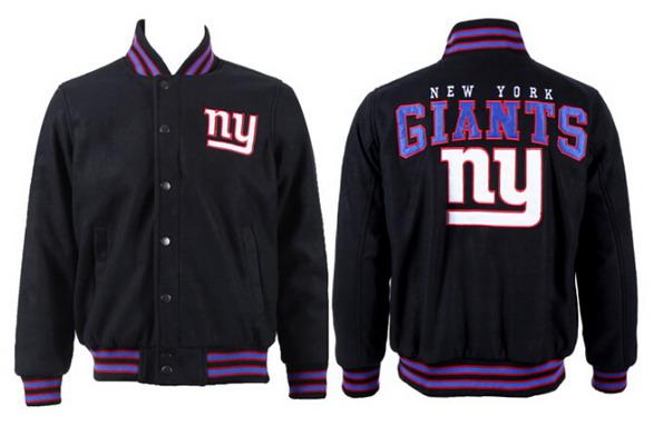 Men's New York Giants Black Jacket FY