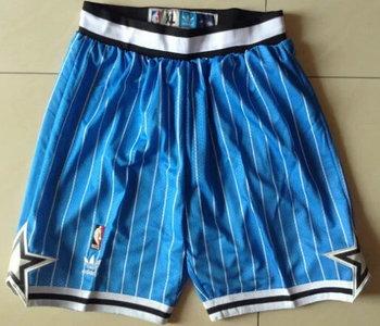 Men's Orlando Magic Blue Pinstripe Shorts