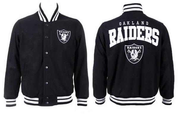 Men's Oakland Raiders Black Jacket FY