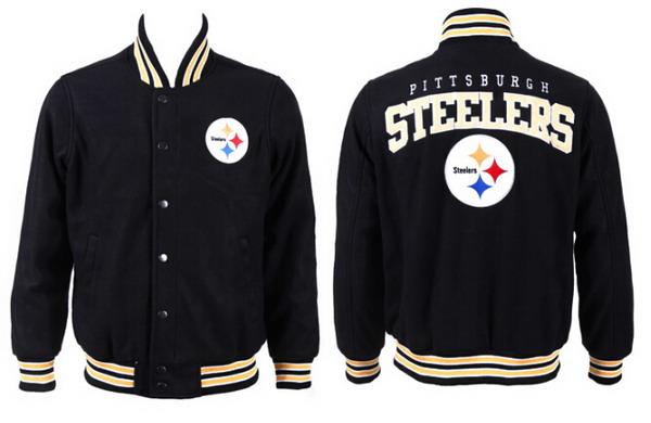 Men's Pittsburgh Steelers Black Jacket FY