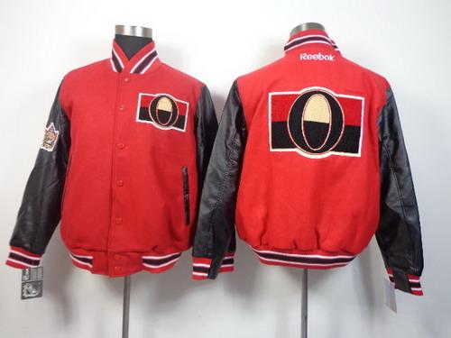 Men's Ottawa Senators Blank Red Jacket