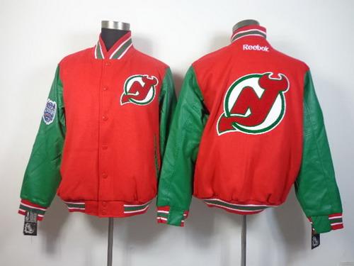 Men's New Jersey Devils Blank Red Jacket
